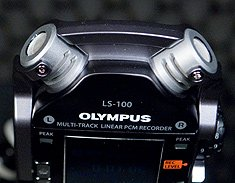 Olympus LS-100 Internal Mics