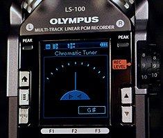 Olympus LS-100 Tuner