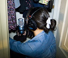 HomeRecording-AKG-In Closet