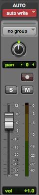 Pro Tools: Mix Fader