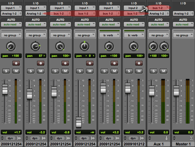 Pro Tools: Mix Faders