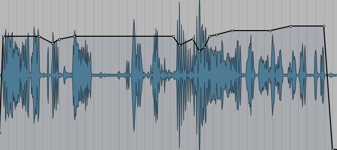 Pro Tools: Mix- Volume Envelop