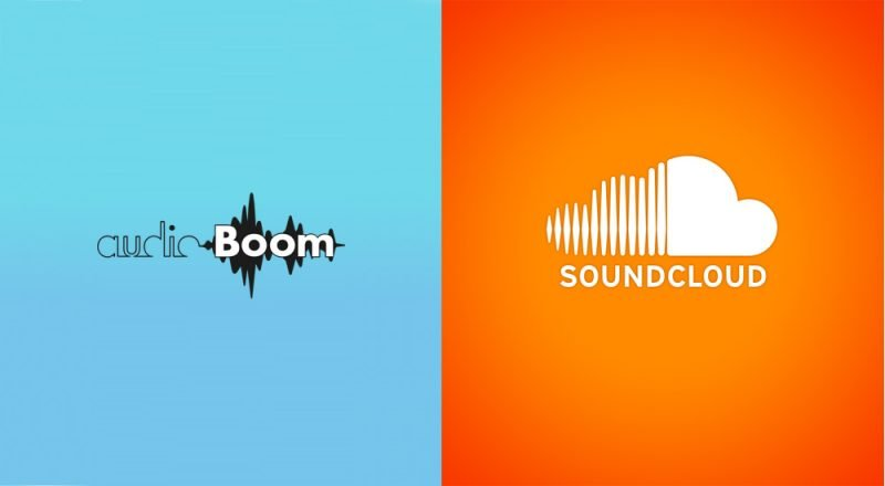 AudioBoom and SoundCloud