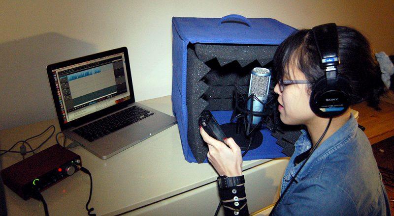 Voice Recording in the Home Studio
