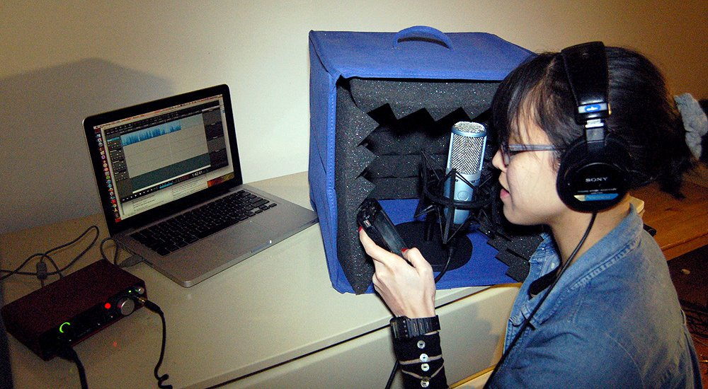 Fine Voice Recording In The Home Studio Transom Largest Home Design Picture Inspirations Pitcheantrous