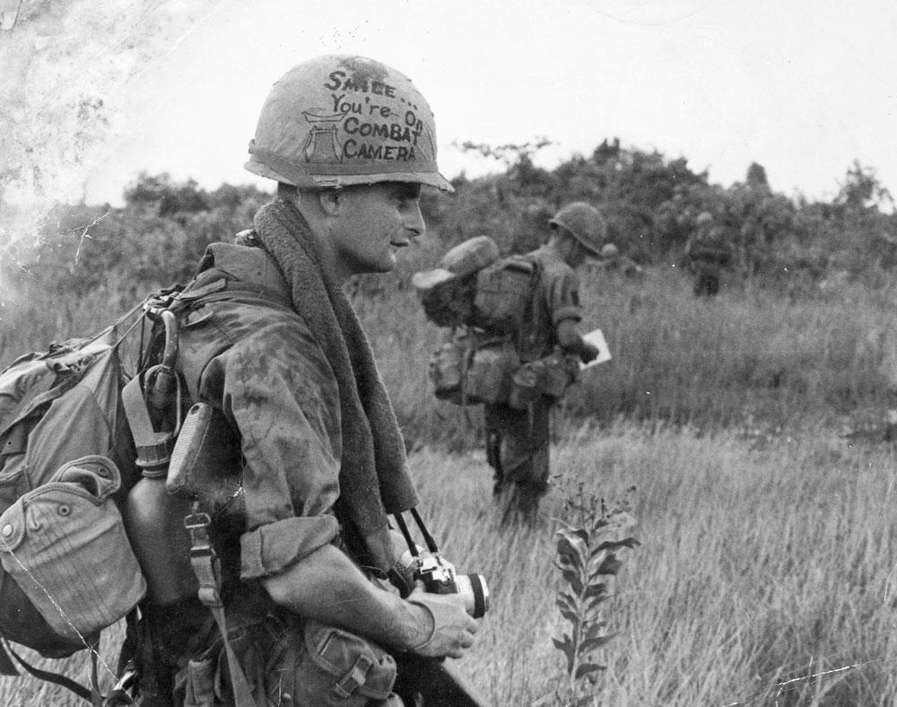 Earl Van Alstine, Combat photographer for the U.S. Army