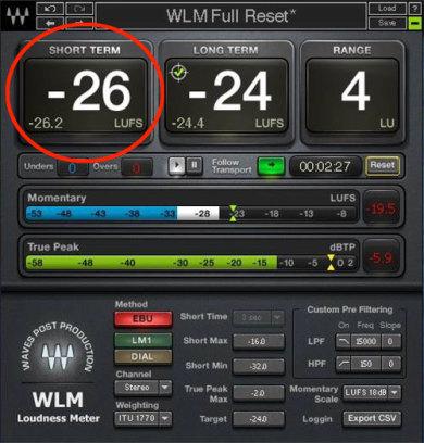 Waves WLM Meter