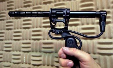 Shotgun Mic ISO Mount