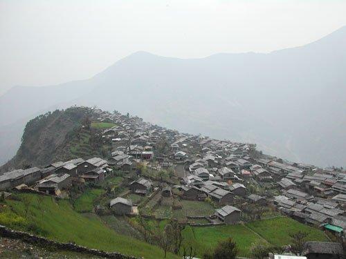 Barpak, pre-earthquake 2008