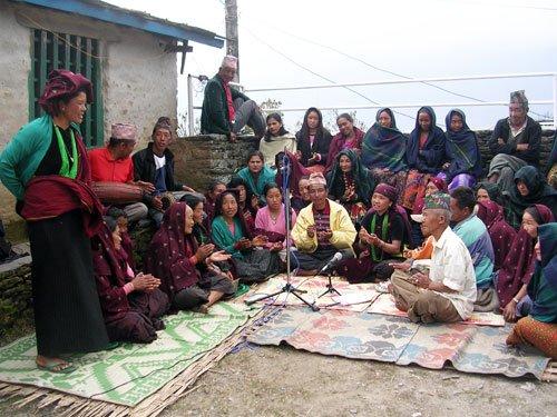 Doko Radio in Barpak, Gorkha