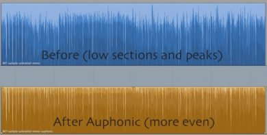 Auphonic - Before & After