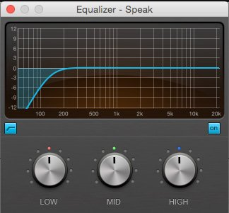 EQ High Pass