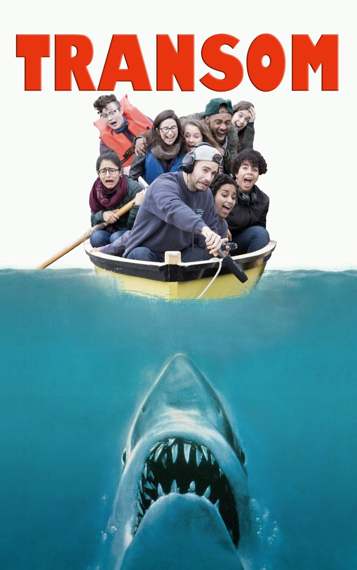 The full TSW Fall 2015 Jaws poster. Thanks to alum Andrew Norton for helping to realize this idea.