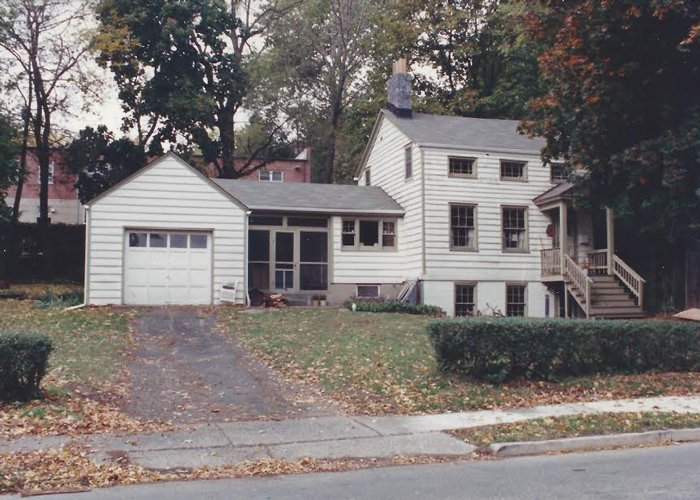 The house where my mother was living in 1994.