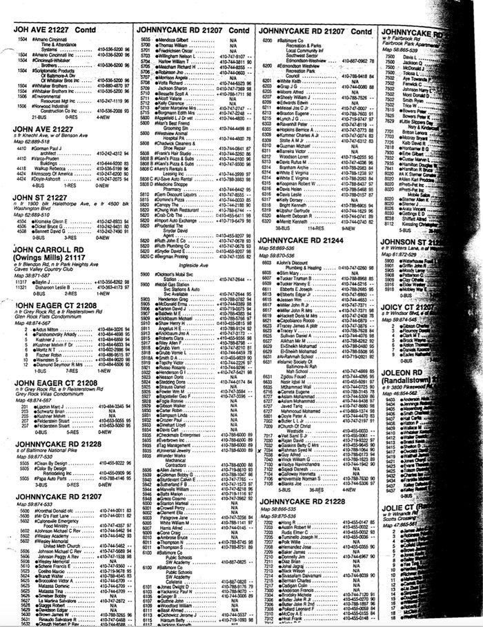 photo of the phonebook in the MPIA