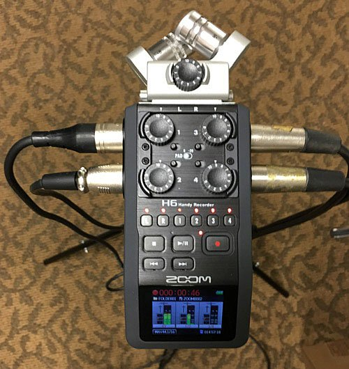 Recording Live Events - Transom