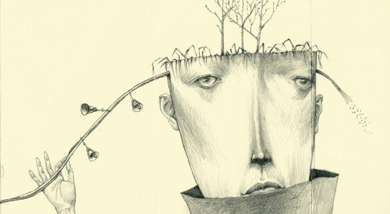 drawing by Gustav Klim