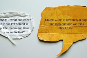 In Conversation: Jenna Weiss-Berman and Laura Walker