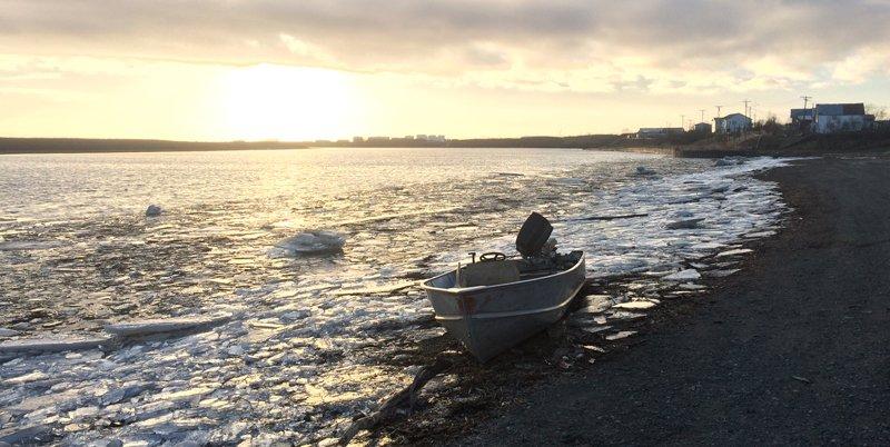 photo of the Kuskokwim River