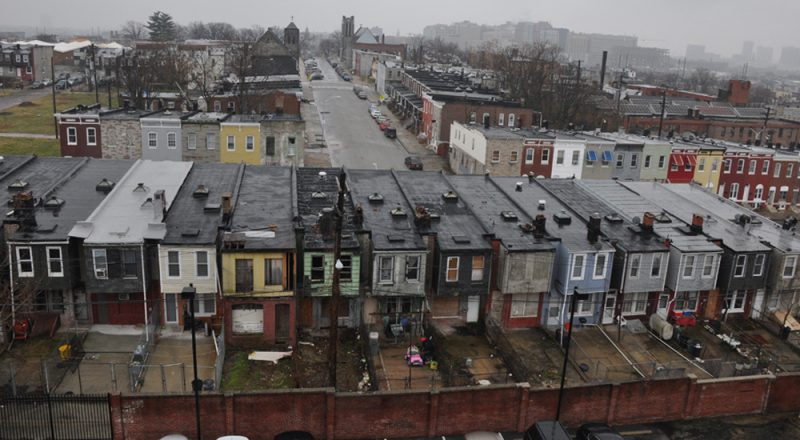 photo of Baltimore neighborhood