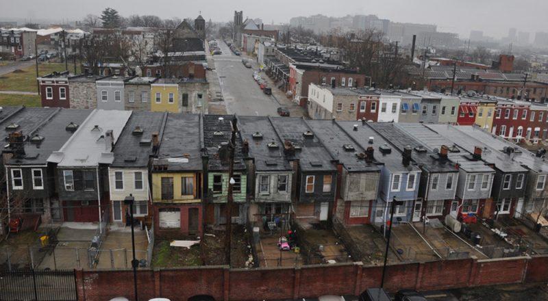 photo of Baltimore neighborhood