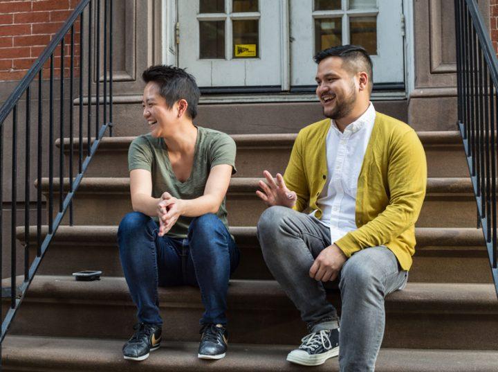 photo of Kathy Tu and Tobin Low.