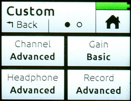 MixPre-Custom Mode