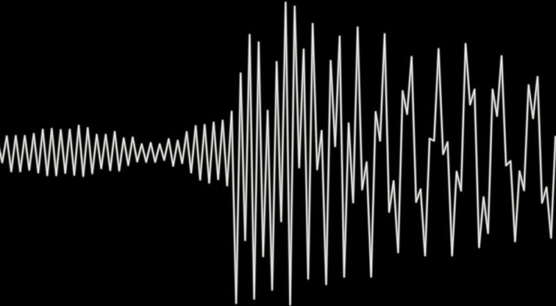 photo of sound wave