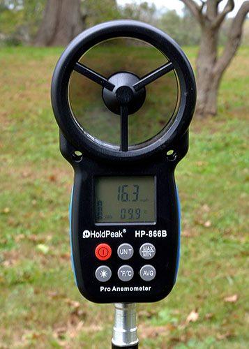 photo of Anemometer