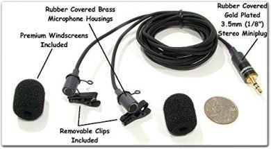 Sound Professionals Binaural Mics
