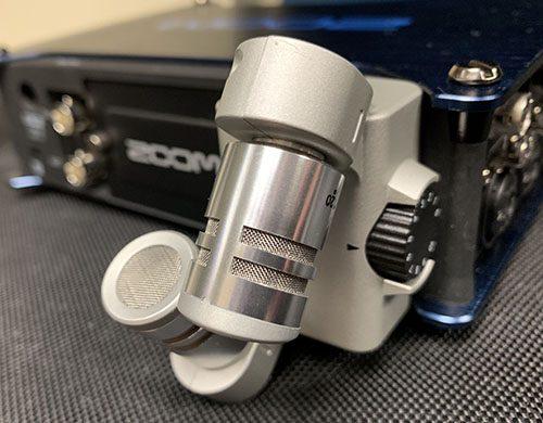 Zoom-F8-External Mic