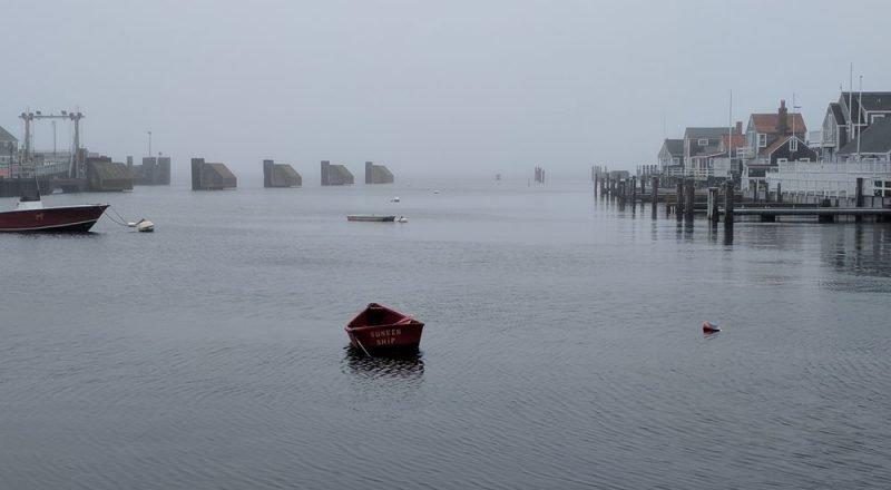 photo of Nantucket harbor